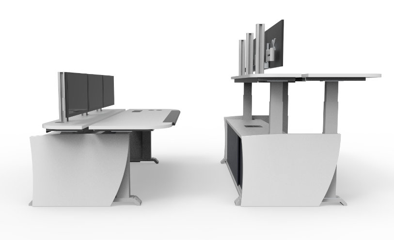 Console Concepts an Australian manufacturer of control  : bodyimg6 Adjustable Height <strong>Trading Desk</strong> from www.consoleconcepts.com.au size 813 x 496 jpeg 130kB